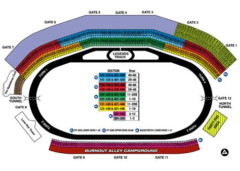 texas motor speedway seating map texas motor speedway packages seating chart tickets travel tours and hotels