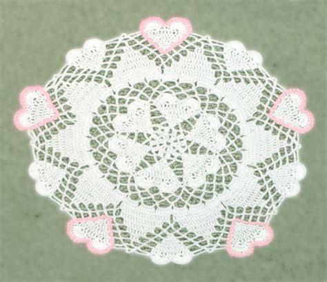 free pattern heart doily 8 best images of valentine doily crochet pattern