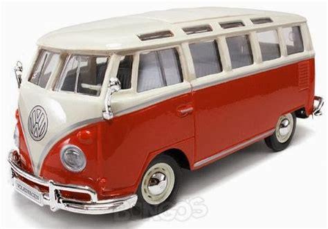 Miniatur Diecast Mobil Vw Combi 1962 Klasik Volkswagen Kombi diecast vw volkswagen sanba merk maisto skala 24 jual mainan diecast mobil miniatur motogp