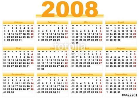 April 2008 Calendar Kalender 2008 My