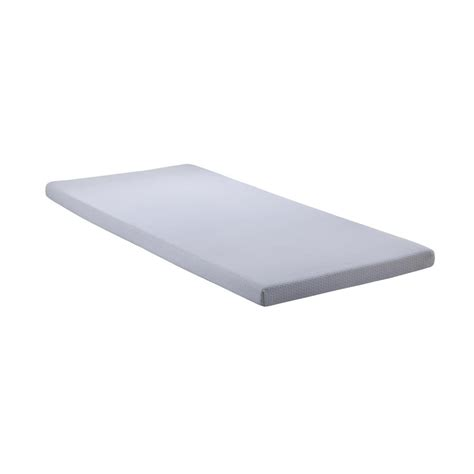 Roll Up Mattress by Simmons Siesta 3 In Blue Memory Foam Roll Up