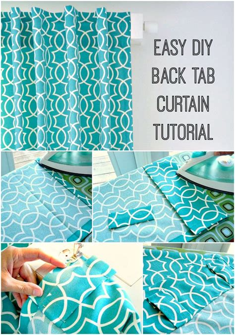 easy curtain tutorial 3027 best creative sewing more images on pinterest