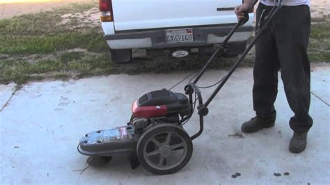 craftsman weed trimmer  youtube