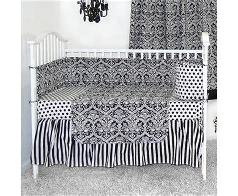 Black And White Damask Crib Bedding Sleeping Partners Tadpoles Baby Crib Bedding Free Shipping