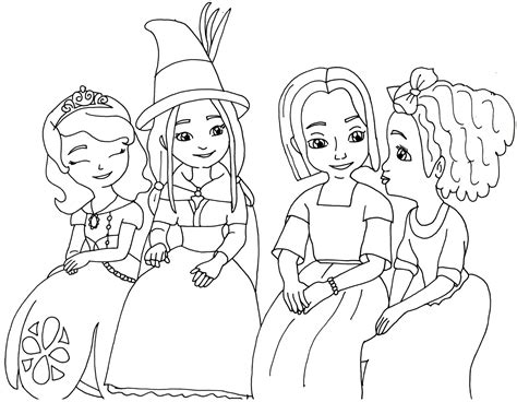 sofia the coloring pages sofia the coloring pages the witch sofia
