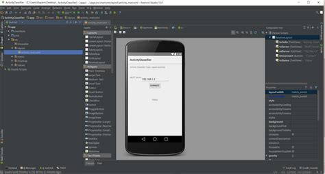 android studio layout main fhealth a fog computing framework for activity tracking