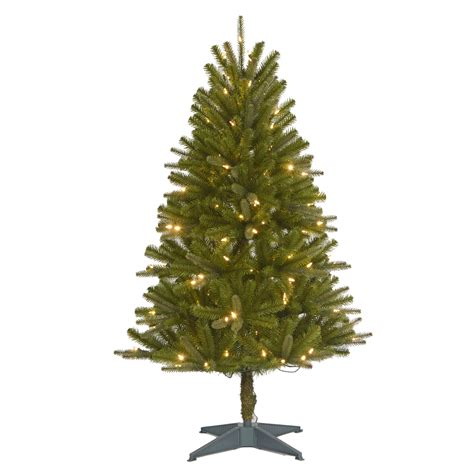 sears roebuck prelit christmas tree 4 5 pre lit regal fir tree sears