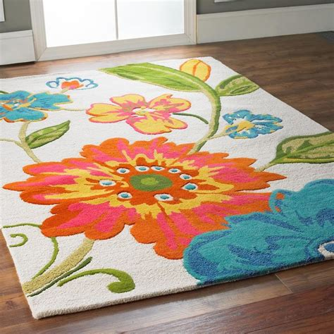 Top Green 14729 colorful floral rugs www pixshark images galleries with a bite