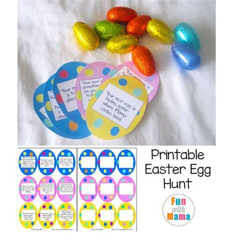 printable alphabet egg hunt printable easter egg hunt ideas clues fun with mama
