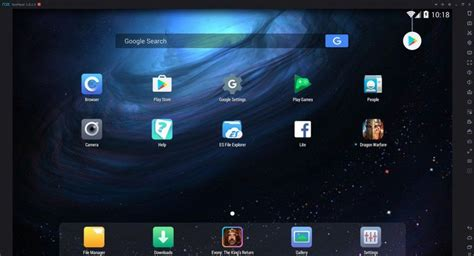android app player for pc nox app player a beautiful android emulator for pc and mac top10tech