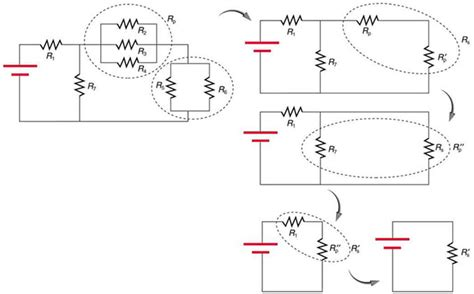 resistors in parallel and series current resistors in series and parallel boundless physics