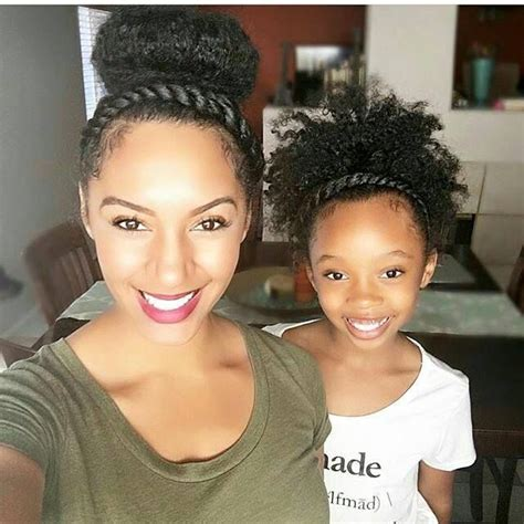 hairstyles for black moms what a great way to bond mommy daughter moments http
