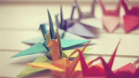 Colorful Origami - origami wallpaper 2560x1440 8670