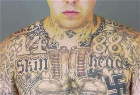 white supremacy tattoos from alt right to alt lite naming the