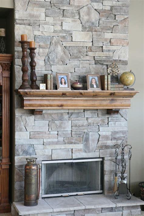Splendid wood mantels decorating ideas