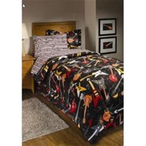 1000 images about evan s bedroom on guitar comforter sets and bed in a bag