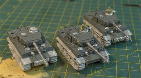 Liquid Tiger All Variant 55ml the back 40k my panzer iii s from the plastic soldier company