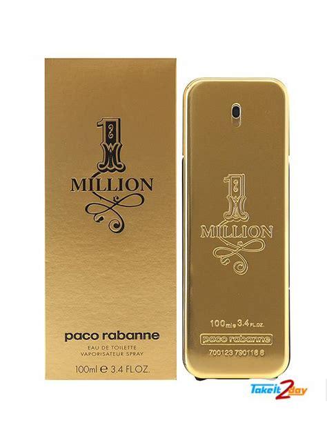 Paco Rabanne 1 Million 100ml 2 paco rabanne 1 million perfume 100 ml pa1m01