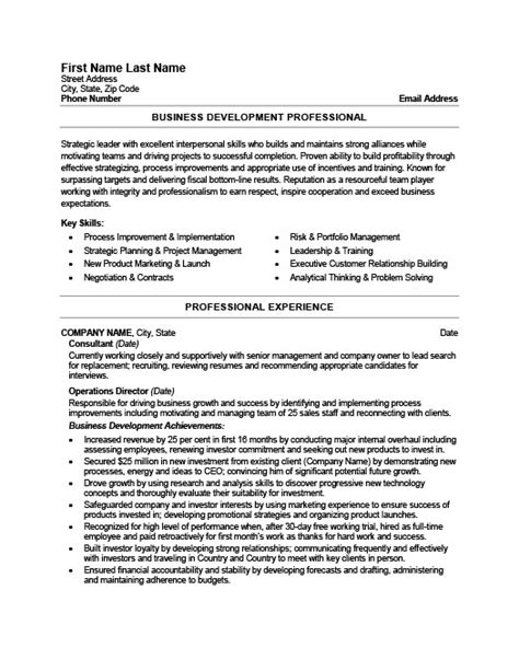 business developer resume template premium resume