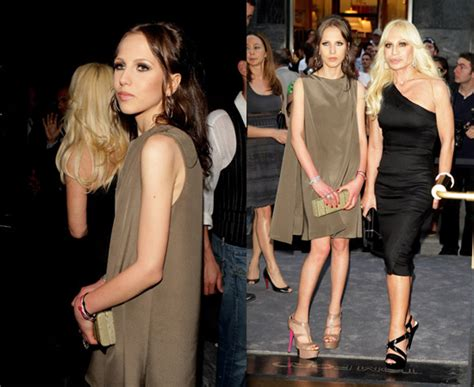 Versace Battling Anorexia by Mike Tyson Tattoos Allegra Versace Anorexia