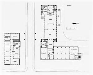 bauhaus floor plan from the harvard art museums collections bauhaus building dessau 1925 1926 ground floor plan