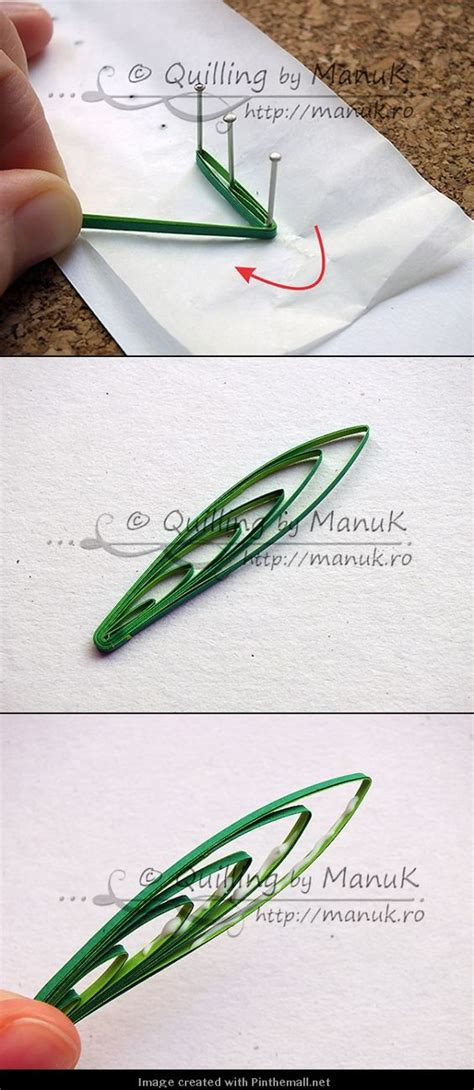 quilling grass tutorial quilling m 233 thode 5 quilling paper pinterest