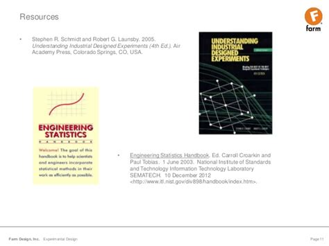 nist experimental design design of experiments