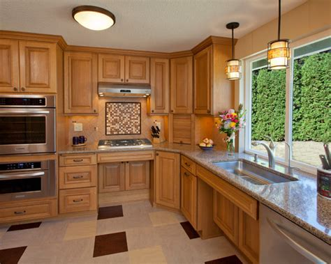 Handicap Kitchen Cabinets Ada Kitchen Design Ideas Pictures Remodel And Decor