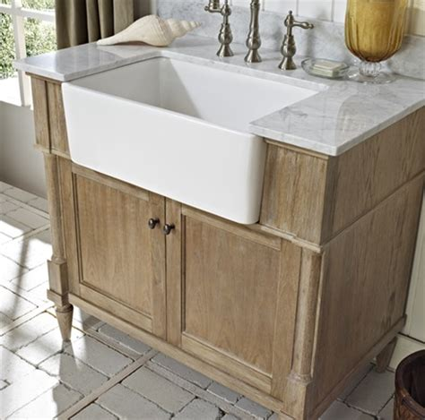 weathered oak bathroom vanity rustic chic 36 quot farmhouse vanity weathered oak fairmont