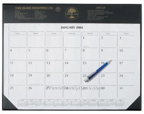 personalized large desk pad calendar large desk pad calendar china wholesale dcl137307