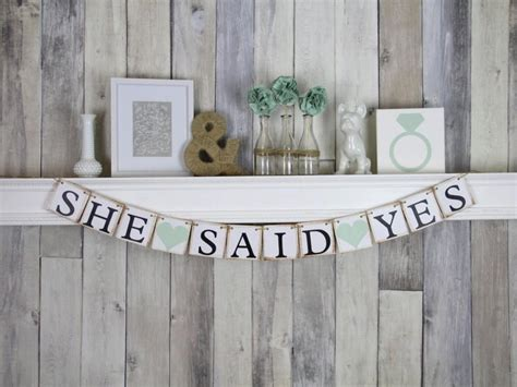 Wedding Shower Banner Sayings by Engagement Banner Engagement Ideas She Said Yes