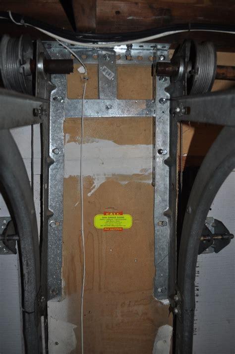 Garage Door Tension by Garage Door Tension Rod Is Shifting