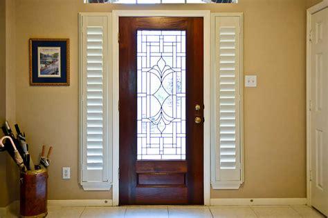 Front Doors With Side Windows by Curtains For Side Windows On Front Door Curtain
