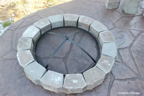 how to make firepit how to make an outdoor firepit how to make a pit how to