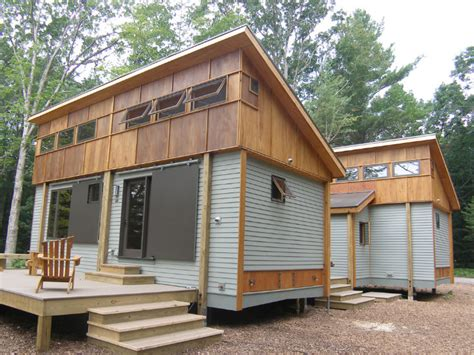 prebuilt tiny homes compact modular pre fab cottage made from local materials