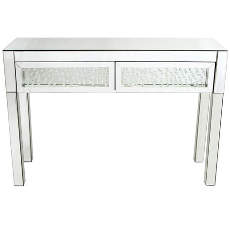 Vicenza Mirrored Console Table French Furniture From Mirrored Sofa Table