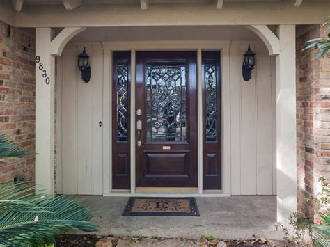 Front Door With Sidelight Sidelight Doors Backyardsplastpro Entry Door And Sidelight With Entropy Glass Odl Decorative
