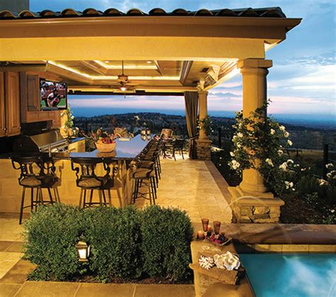 backyard bar design outdoor kitchens part 2 luxury pools