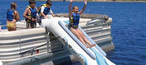 pontoon water slide rave pontoon slide commercial recreation specialists