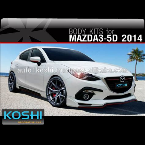 2014 mazda 3 kits koshi sport kit for new mazda 3 2014 5 doors buy
