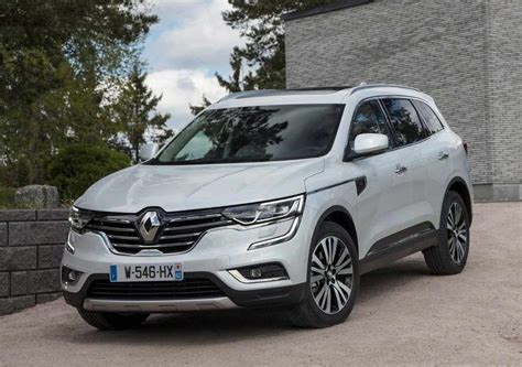 koleos renault 2018 renault koleos 2018 the new renault coleos cars news