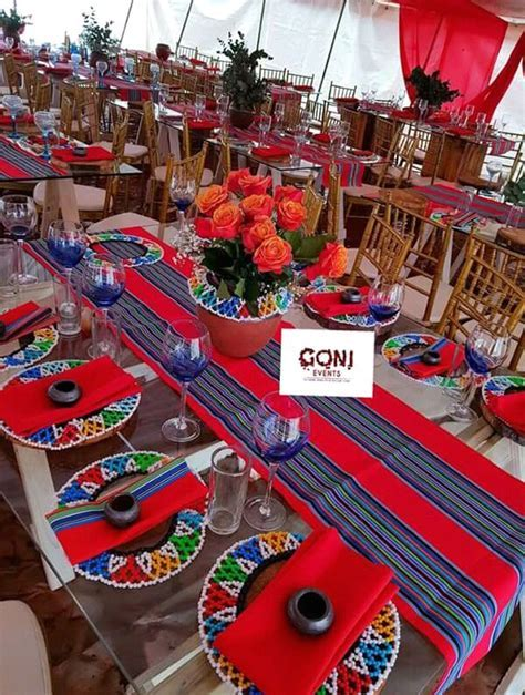 Red Venda Wedding Decor   Clipkulture   Clipkulture