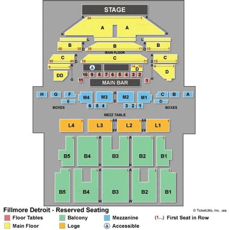 Fillmore Box Office by Detroit Concert Tickets
