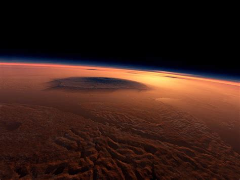 beautiful mons happy martian summer solstice for the northern hemisphere
