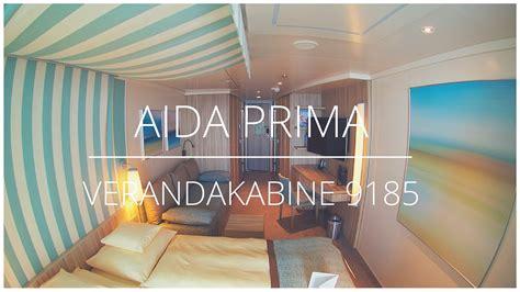 aidaprima 4er kabine aidaprima verandakabine komfort 9185 2 b 228 der