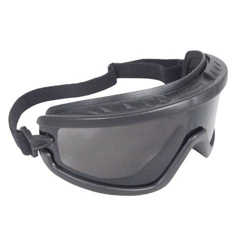 Uvex Protective Eyewear With Belt Loop Black For Glasses radians barricade goggles smoke frame smoke anti fog