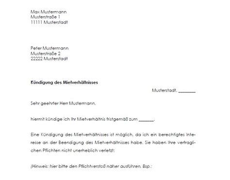mietvertrag kuendigungsfrist bgb kuendigung vorlage fwptccom