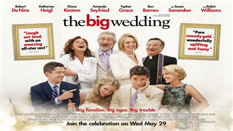 cast of the big wedding fortitude magazine the big wedding unveils new trailer