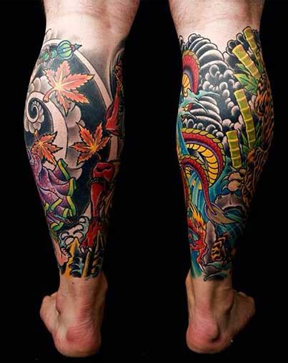 calf tattoo pain dreamcatcher calf tattoos on leg for
