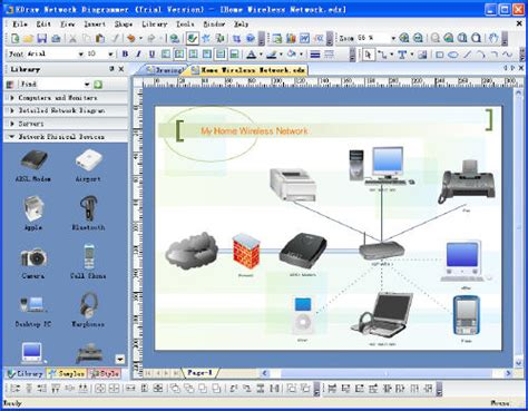 home network design tool creando diagramas de redes taringa